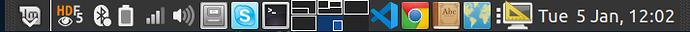 linux-mint-taskbar